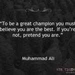 Quote Muhammad Ali Champion