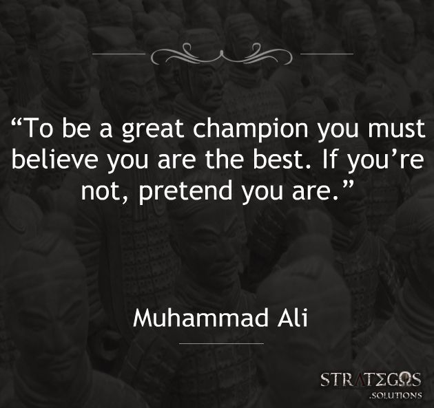 Quote Muhammad Ali Champion