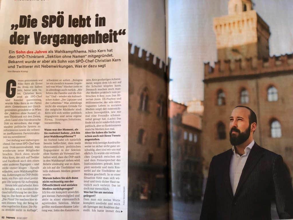 Niko Kern NEWS SPÖ
